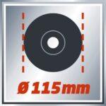 Einhell ugaona brusilica TC-AG 115 4