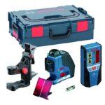 bosch-laserski-nivelir-prijemnik-drzac-gll-3-80-p-lr-2-bm-1-professional 1